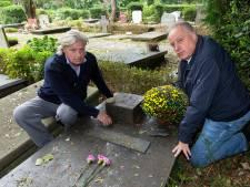 Familie is geschokt na diefstal van bronzen beeld van graf broer: 'Dit is van tevoren gepland'