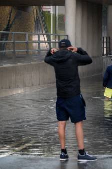 Noodweer in Brabant: veel wateroverlast, treinstoring door blikseminslag en vertragingen