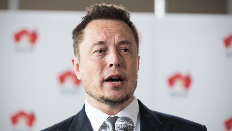 Tesla-baas ELon Musk Beeld epa