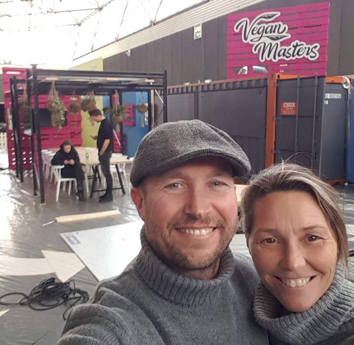 Eigenaren van Vegan Masters Danny Galliart en Kirsten Gielen.