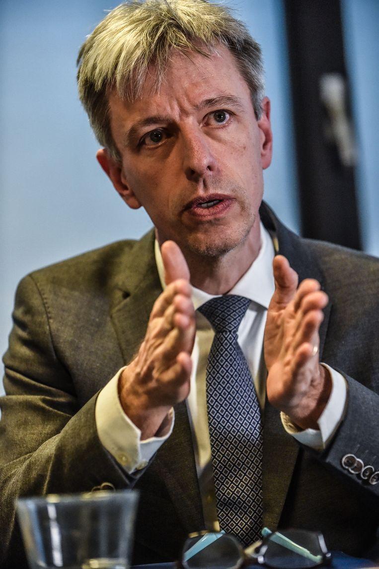 Geert Noels: 'We hebben mensen uit de politiek en de bedrijfswereld ingeseind dat er van alles fout is gegaan.' Beeld Koen Bauters