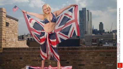 Boris heeft het vlaggen
