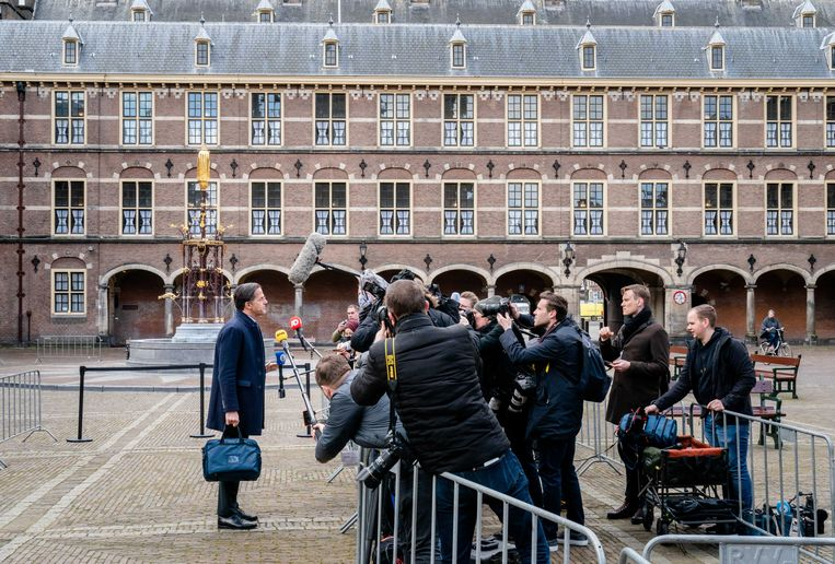 Mark Rutte (VVD).  Beeld ANP