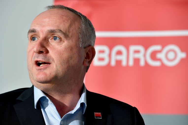 Barco-CEO Jan De Witte.  Beeld BELGA