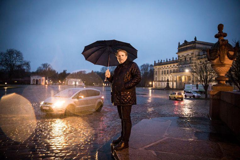 Heiko Böhringer, politicus uit de streek van de groepering: 'Ik dacht eerst dat het gekken betrof die te veel horrorfilms hadden gezien.'  Beeld NYT