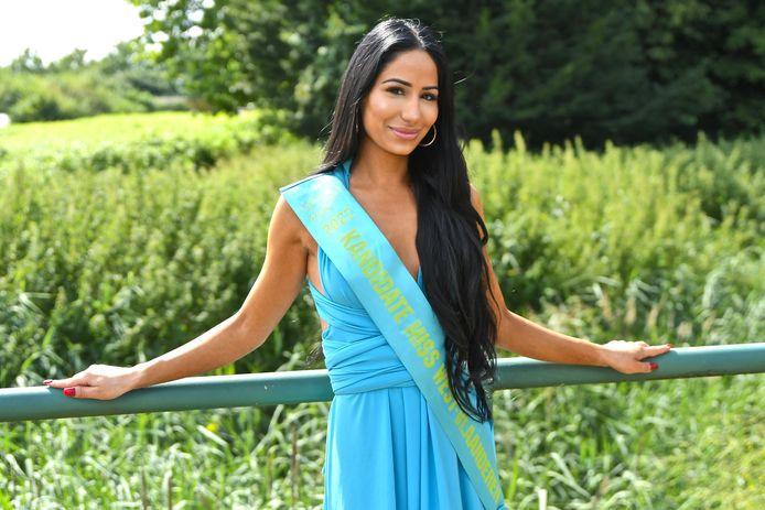 Parna Pakravesh hoopt Miss West-Vlaanderen te worden en straks ook het kroontje van Miss België weg te kapen.