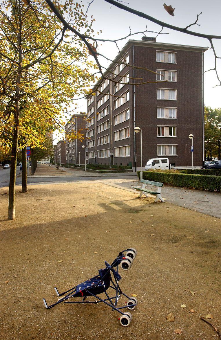 'Luchtbal'-wijk in Merksem, Antwerpen.  Beeld Jimmy Kets