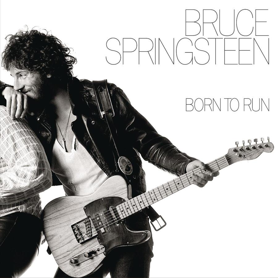 De albumhoes van Born to run.