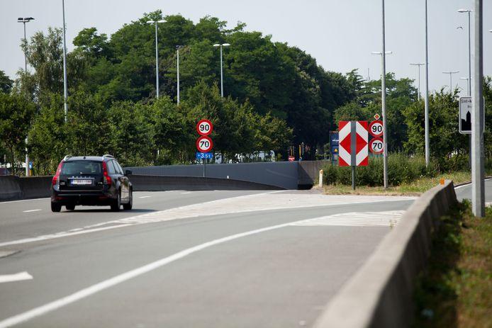 Er wordt vooral (grote) hinder verwacht nabij de afritten aan de Koningin Astridlaan en de Torhoutse Steenweg.