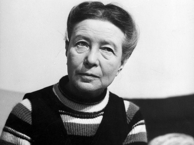 Simone de Beauvoir. Beeld ANP