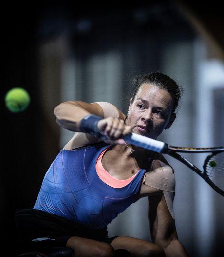 Tennisster Marjolein Buis leeft bij US Open in een coronabubbel
