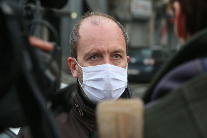 Fabrice Cumps (PS), burgemeester van Anderlecht.
