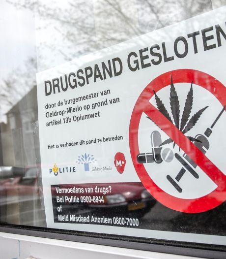Drugspand in Geldrop drie maanden dicht