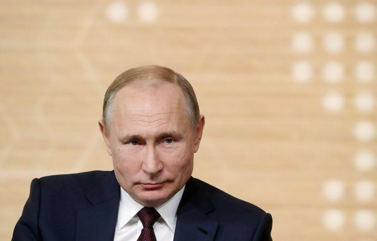 Vladimir Poetin Beeld Mikhail Metzel/TASS