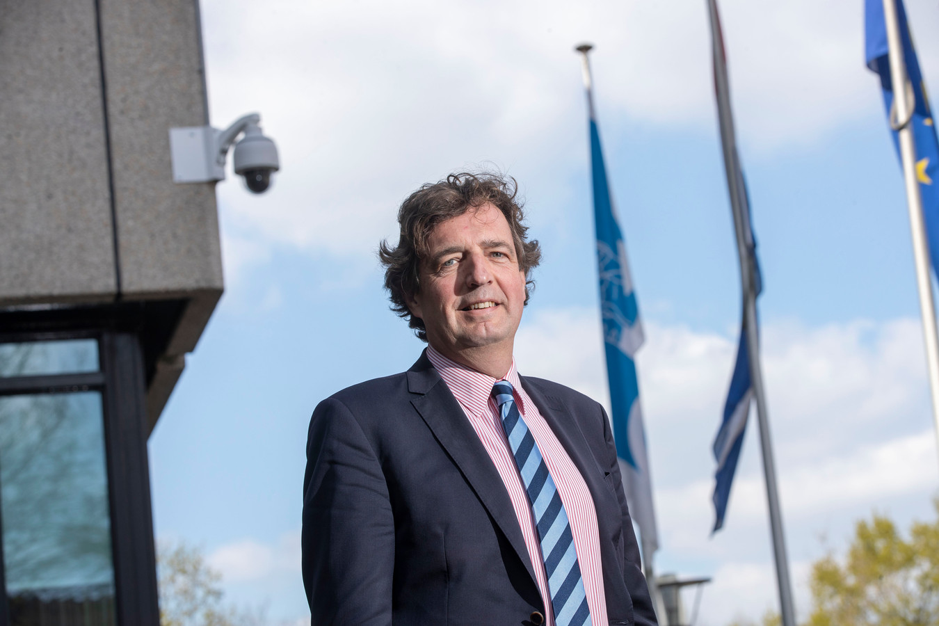 Burgemeester René Verhulst