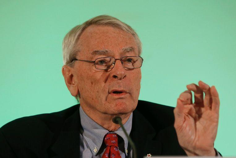 Commissievoorzitter Dick Pound. Beeld REUTERS