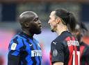 Romelu Lukaku en Zlatan Ibrahimovic.