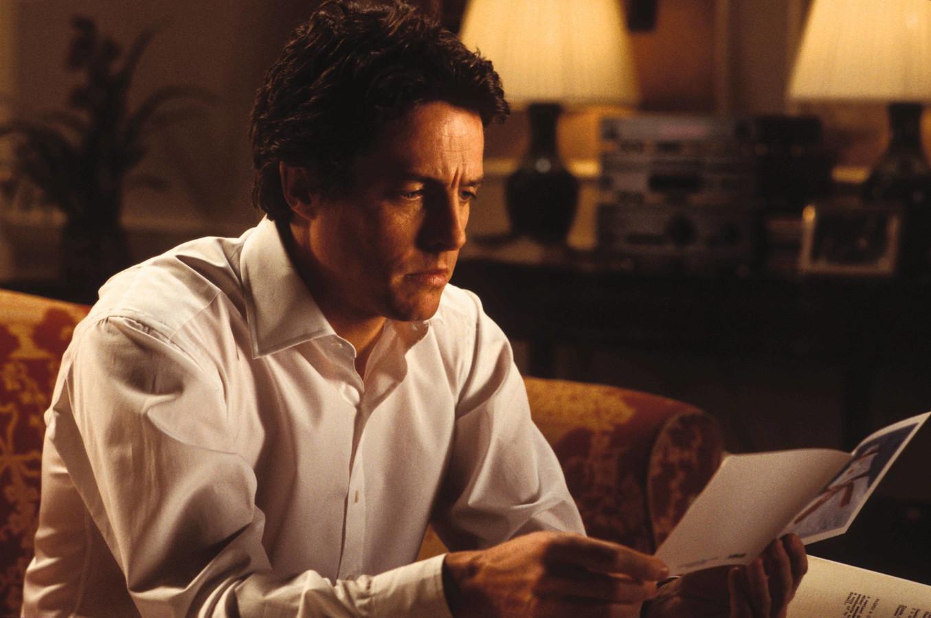 """Hugh Grant dans """"Love Actually"""""""