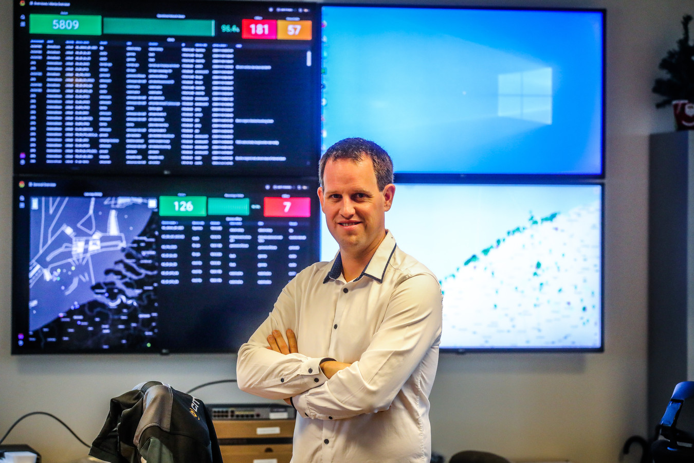 Citymesh-CEO Mitch De Geest.