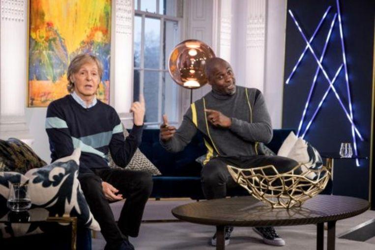 'Idris Elba meets Paul McCartney Beeld BBC