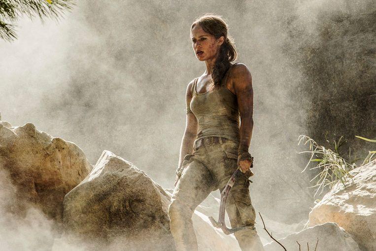 Alicia Vikander is de nieuwe Lara Croft.  Beeld AP