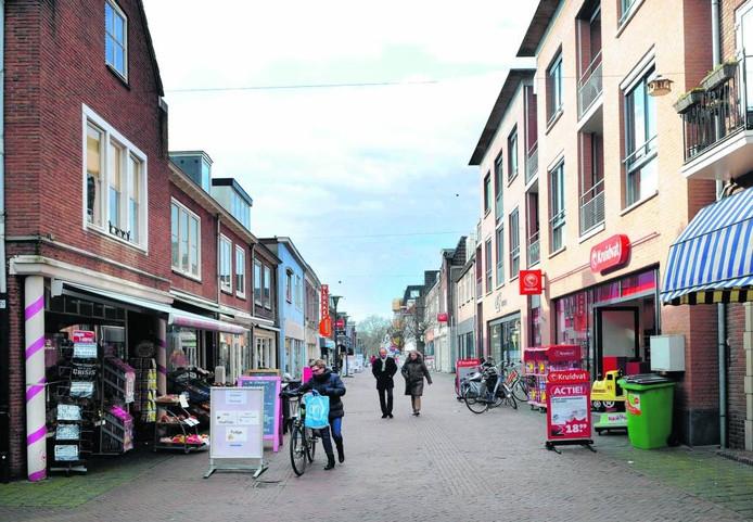 De Dorpsstraat in Renkum.