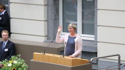Schepen Loes Vandromme legt eed af als Vlaams volksvertegenwoordiger