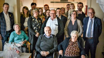 Remi en Marie-José vieren 70ste huwelijksverjaardag in Oudenaarde