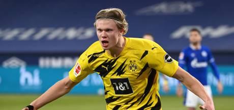 Haaland eist met werelddoelpunt hoofdrol op in eenvoudig gewonnen Kolhlenpott-derby