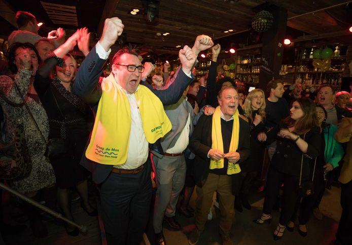 Richard de Mos wint de verkiezingen.