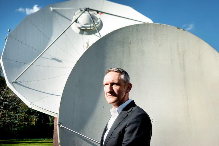 Oud-VRT-televisiedirecteur Jean Philip De Tender leidt in Genève de EBU. Beeld Eric de Mildt