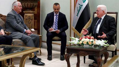 Tillerson brengt ook verrassingsbezoek aan Bagdad