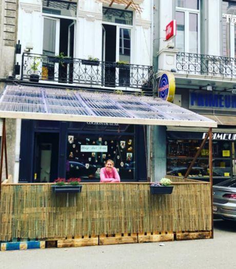 """Gastronomisch restaurant Cochon De Luxe zet veranda voor de deur: """"Geen terras, dan zetten we er wel zelf een"""""""