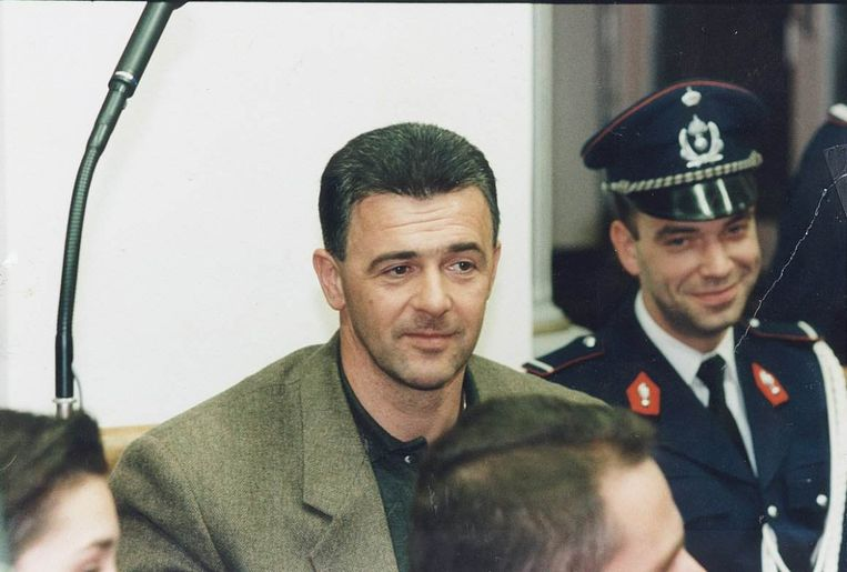 Danny Vanhamel, ontvoerder van Anthony De Clerck, in de rechtbank. Beeld rol