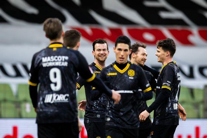 Roda JC blijft staan op de negende plaats.