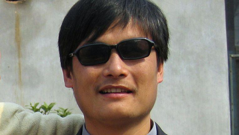 Chen Guangcheng Beeld AFP