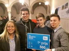 Studenten van Koning Willem I College in Den Bosch winnen 24-uurs ontwerpwedstrijd van BAI