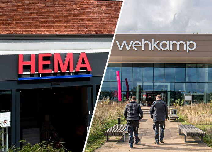Artikelen van Hema zijn straks niet meer te koop bij de webshop van Wehkamp.