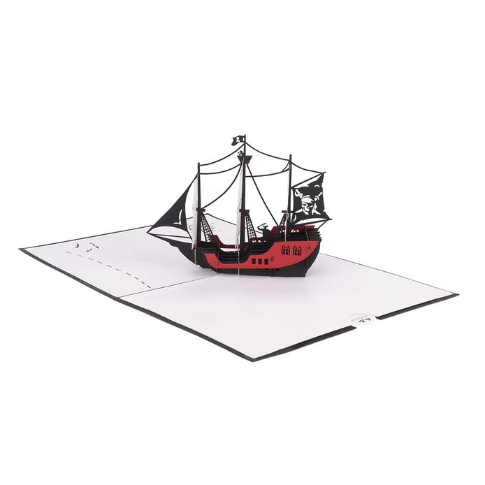 Het piratenschip van Hartensteler