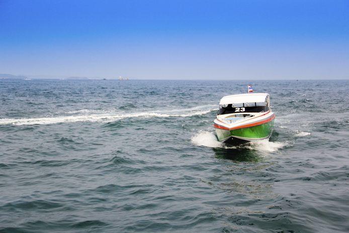 Speedboot (ter illustratie)