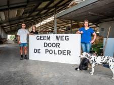Verzet tegen nieuwe weg door polder groeit: 'We hebben hier slapeloze nachten van'
