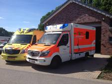 Duitse ambulance al vier keer naar Dinxperlo