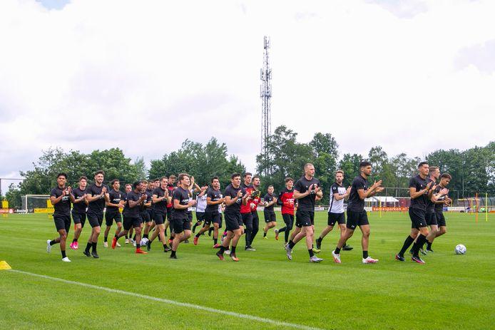 De trainingen van GA Eagles worden weer openbaar.