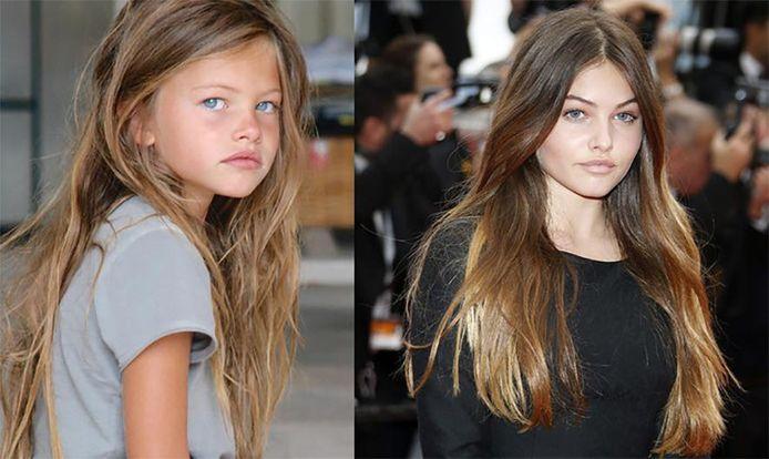 Thylane Blondeau: links (6) en rechts (15).