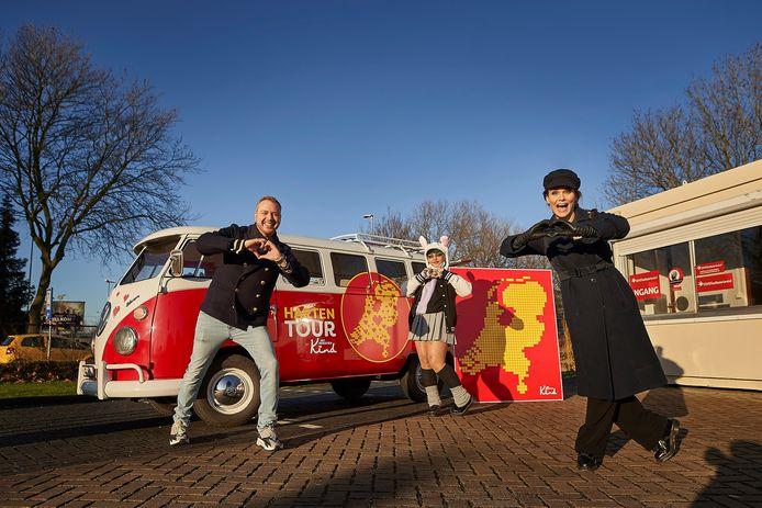 Jamai Loman (links) en Angela Schijf zijn ambassadeurs van Het Vergeten Kind en werken mee aan de campagne.