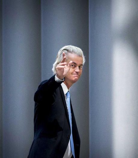 Geert Wilders komt niet naar zijn proces
