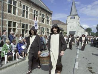 Ook dit jaar beperkte processie ter ere van Sint-Ermelindis in Meldert