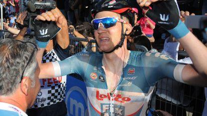 Wellens pas vierde Lotto-renner met minstens twee Giro-ritzeges