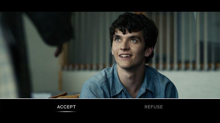 Still uit de Black Mirror-aflevering Bendersnatch. Beeld Netflix