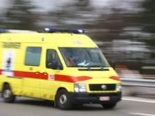 Un blessé grave dans une collision frontale à Hannut